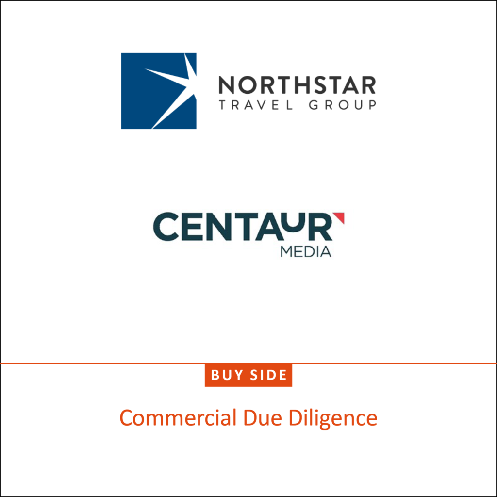 North Star Travek Group and Centaur media logo - bu-side commercial due diligence