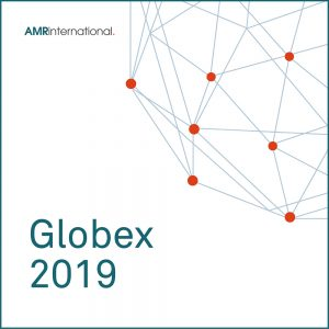 Globex 2019 cover image with globe symbol