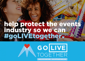 AMR Consulting supports the Go Live Together Initative - helping to protect the events industry
